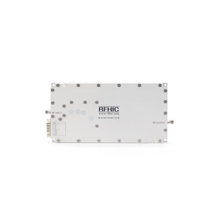 RUM15040-10, 56dB, 500-2500 MHz, GaN Wideband Amplifier - RFHIC