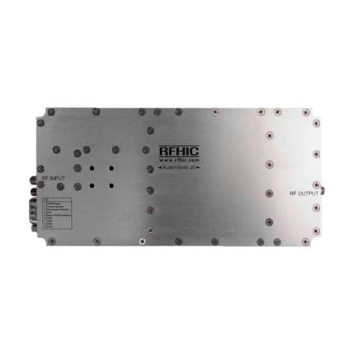 RUM15040-20, 56dB, 500-2500MHz, GaN Wideband Amplifier - RFHIC Corporation