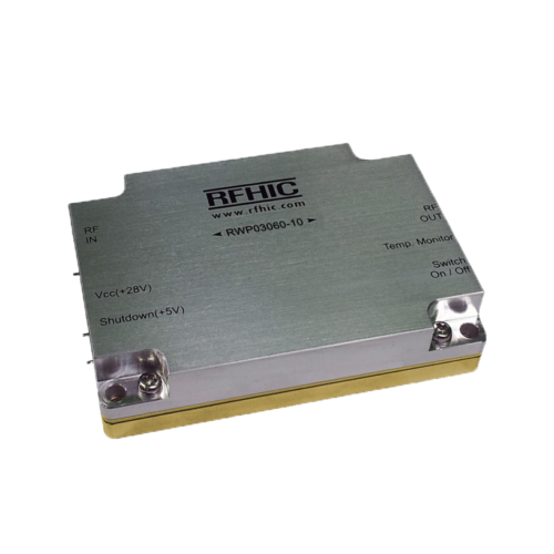 RWP03060-10, 38dB, 20-512MHz, GaN Wideband Amplifier - RFHIC Corporation